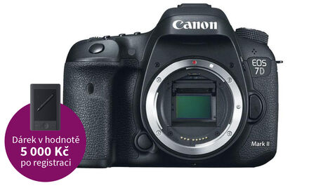 Canon EOS 7D Mark II tělo + W-E1 Wi-Fi adapter