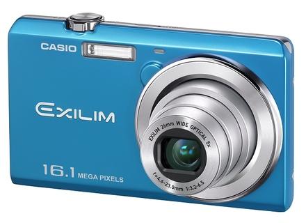 Casio EXILIM ZS12 modrý