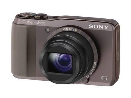 Sony CyberShot DSC-HX20V hnědý + 16GB karta + pouzdro Ridge 30!
