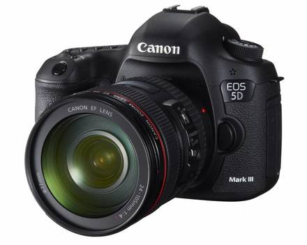 Canon EOS 5D Mark III + 24-70 mm f/2,8