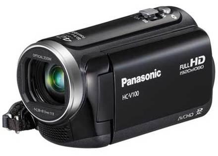 Panasonic HC-V100 černá