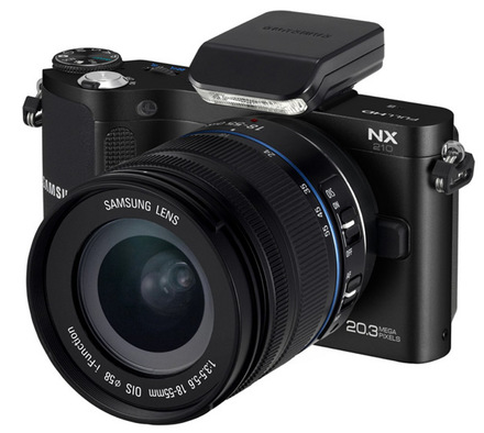 Samsung NX210 + 18-55 mm OIS i-Function