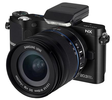 Samsung NX210 + 18-55 m