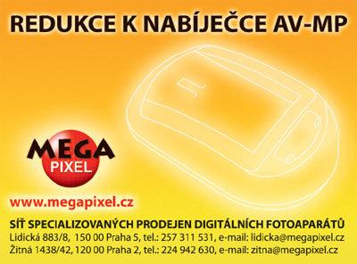Megapixel plato S001 pro Panasonic