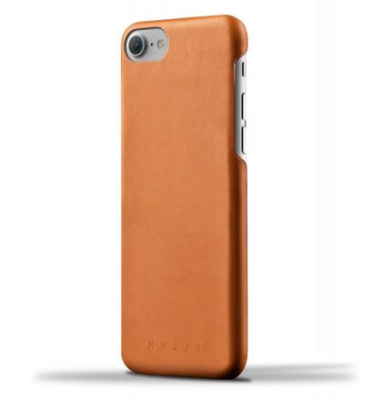 Mujjo kožené pouzdro (celotělové) pro iPhone 8/7 černé - Zánovní!