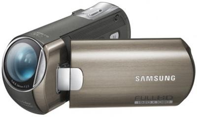 Samsung HMX-M20 stříbrná