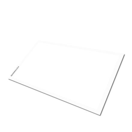 Fotowand neutrální bílá destička 84% 70x125mm