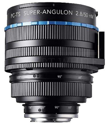 Schneider Kreuznach 50mm f/2,8 HM PC-TS Super-Angulon bez bajonetu