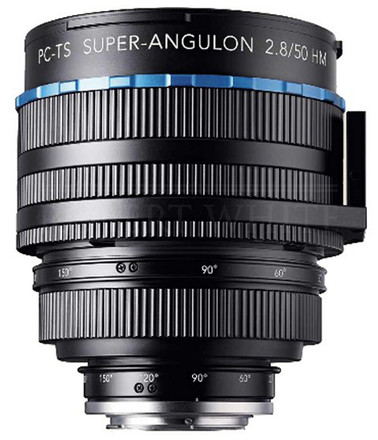 Schneider Kreuznach 50mm f/2,8 HM PC-TS Super-Angulon pro Canon