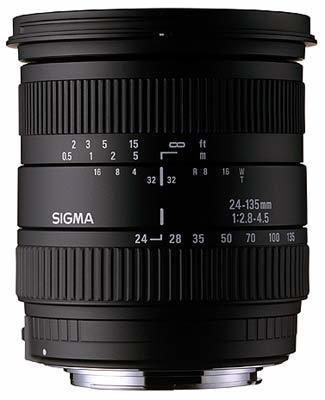 Sigma 24-135 /2,8-4,5 ASPHERICAL IF