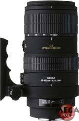 Sigma 80-400 mm F 4,5-5,6 OS DG APO EX pro Sigma