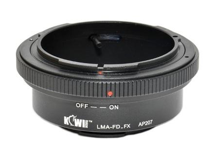 JJC adaptér z Canon FD na Fuji X-Pro 1
