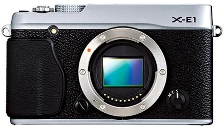 Fujifilm X-E1 tělo černý
