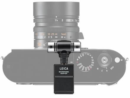 Leica adaptér a mikrofon pro Leica M