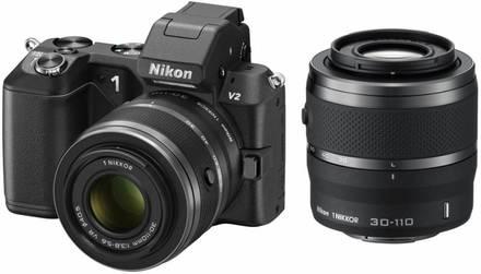 Nikon 1 V2 + 10-30 mm VR + 30-110 mm VR