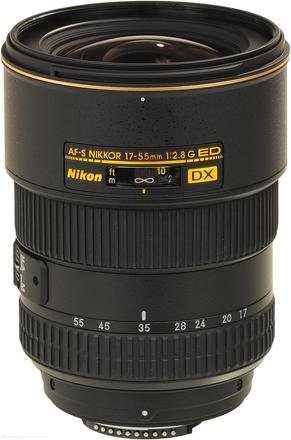 Nikon 17-55mm f/2,8 AF-S DX ZOOM-NIKKOR IF-ED s LC-77 / HB-31 / LF-1 / CL-1120
