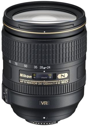 Nikon 24-120mm f/4,0 AF-S ED VR