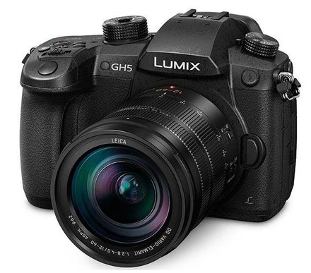 Panasonic Lumix DC-GH5 + 12-60 mm Leica DG f/2,8-4