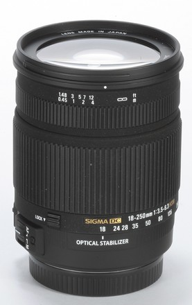 Sigma 18-250mm f/3,5-6,3 DC OS HSM pro Canon