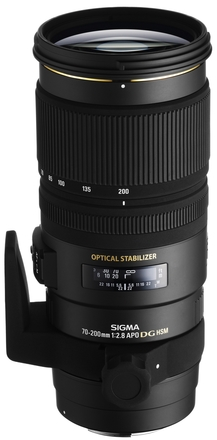 Sigma 70-200mm f/2,8 APO EX DG OS HSM pro Canon