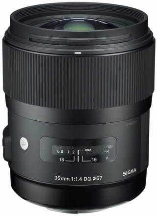 Sigma 35mm f/1,4 DG HSM Art pro Nikon