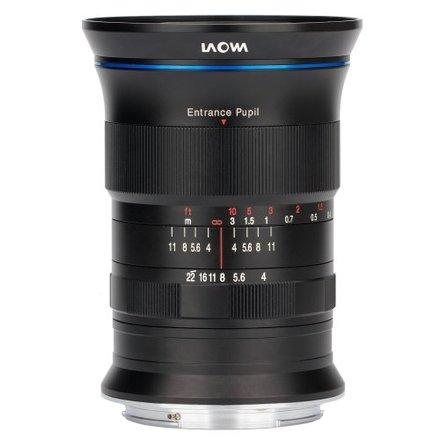 Laowa 17mm f/4 Zero-D pro Fuji X