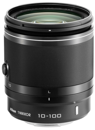Nikon 1 10-100mm f/4,0-5,6 VR bílý Nikon 1 10-100mm f/4-5,6 VR černý