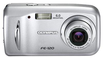 Olympus FE-120 + nabíječka a 2ks akumulátorů (běžně 690 Kč) zdarma!