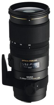 Sigma 70-200mm f/2,8 APO EX DG OS HSM pro Nikon