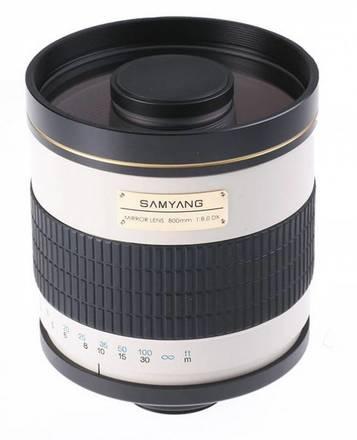 Samyang 800mm f/8,0 bez bajonetu