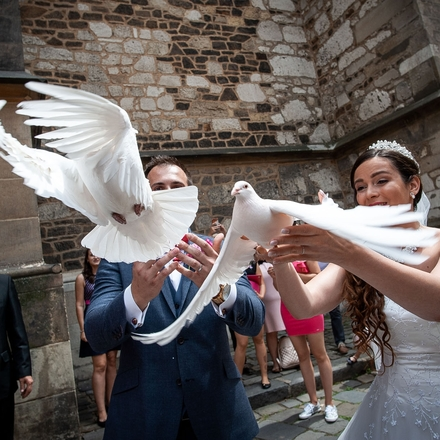 Svatební fotografie krok po kroku s Nikonem