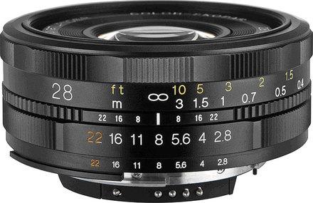 Voigtlander Color Skopar 28mm f/2,8 SL II EOS pro Canon
