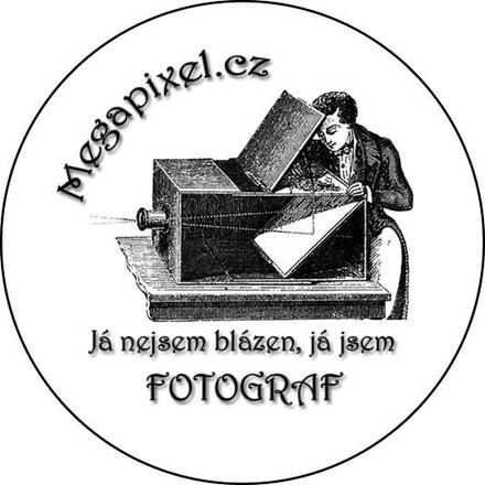 Megapixel odznak: Já blázen fotograf