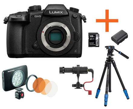 Panasonic Lumix DC-GH5 tělo Neváhej a toč!