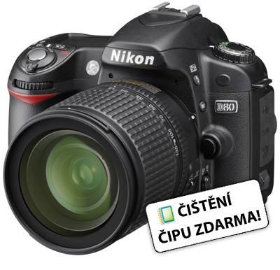 Nikon D80 + 18-55 VR