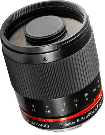 Samyang 300mm f/6,3 ED UMC CS pro Micro 4/3 černý