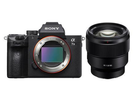Sony Alpha A7 III +  FE 85 mm f/1,8