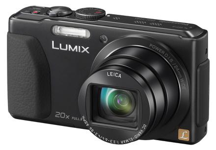 Panasonic Lumix DMC-TZ40 černý + 16GB Ultra karta + originální pouzdro + čistící utěrka!