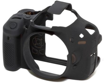 EasyCover silikonové pouzdro pro Canon EOS 600D černé