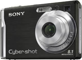Sony DSC-W90 černý