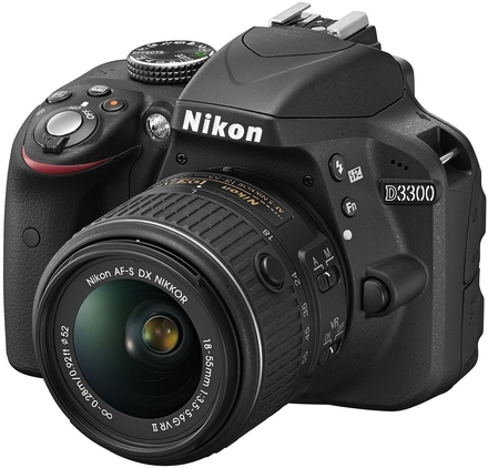 Nikon D3300 + 18-105 mm VR + 16GB Ultra + brašna Nikon + UV filtr 67mm!