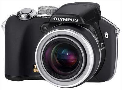 Olympus SP-550 černý ULTRA ZOOM + xD 256MB karta!