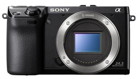 Sony Alpha A6000 tělo černý