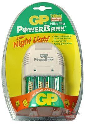 GP nabíječka NL + 4x AA 1600 mAh