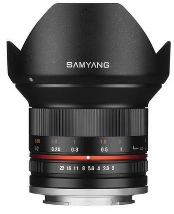 Samyang 12mm f/2,0 NCS CS pro Fuji X