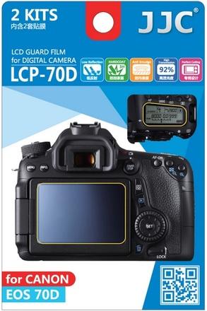 JJC ochranná folie LCD LCP-70D pro Canon EOS 70D