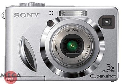 Sony DSC-W7 + MS 256MB karta
