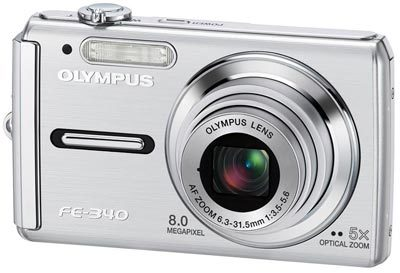 Olympus FE-340 stříbrný