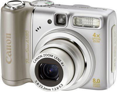 Canon PowerShot A580 + míč EURO 2008