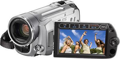 Canon FS100 stříbrný